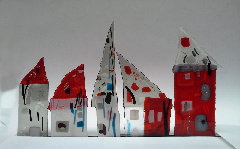 GLASFUSING - WORKSHOPS MIT HEIDE KEMPER